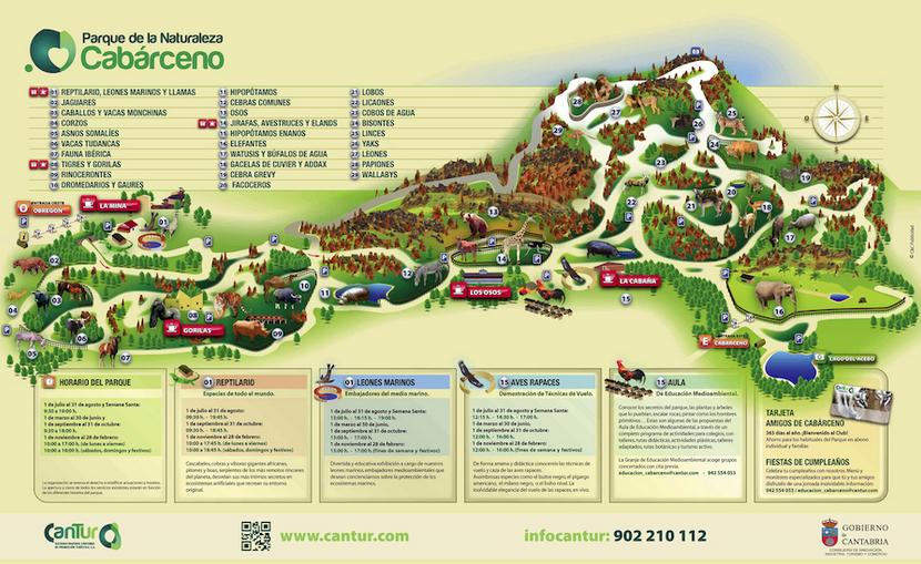 Plano del Zoo